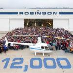Robinson поставил юбилейный вертолет